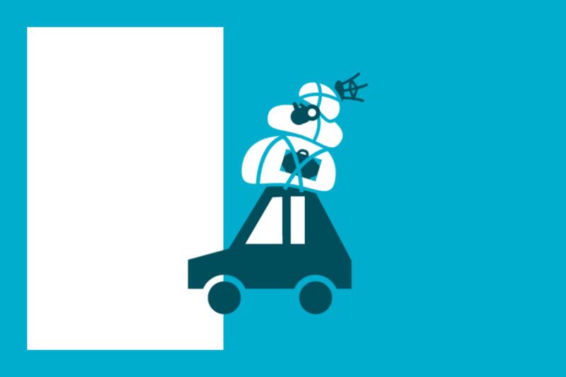 ¿Sabías que… tu seguro de coche puede cubrir los daños causados por la caída del equipaje?
