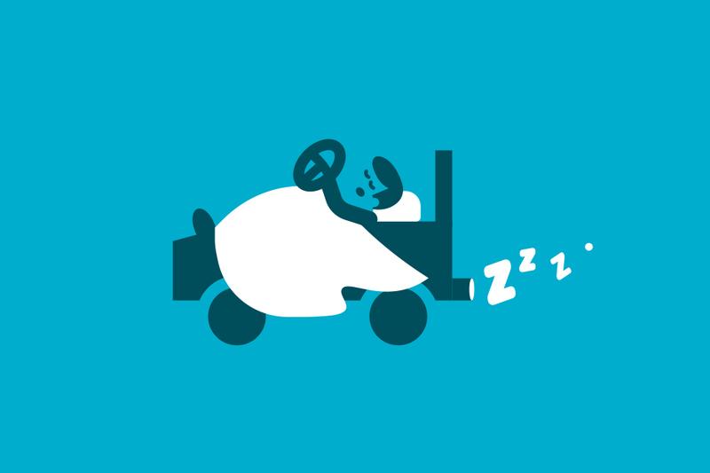 ¿Te cubre tu seguro de coche cuando te quedas dormido al volante?