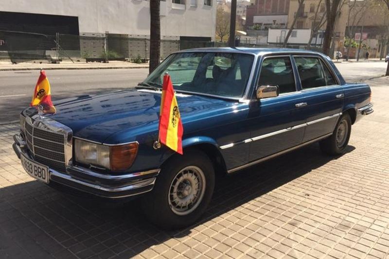 ¿Cuánto cuesta el seguro del Mercedes 450 SEL blindado del rey Juan Carlos?