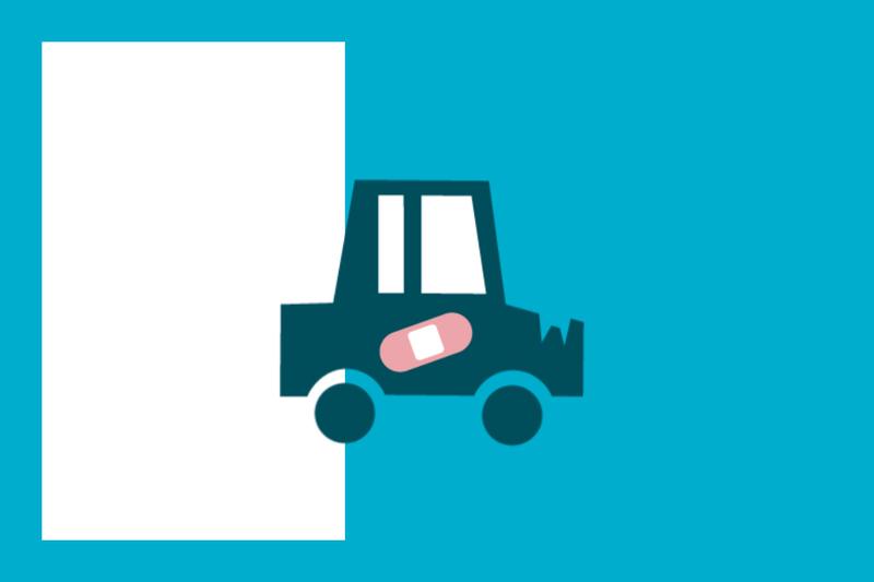 ¿Sabías que... los accidentes de tráfico no los cubre la Seguridad Social?