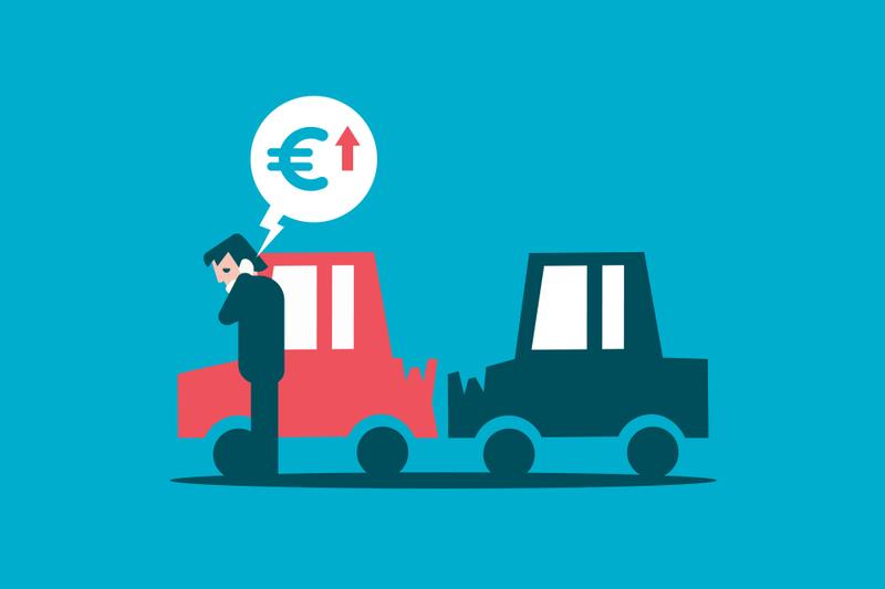 Entidades que te suben el precio del seguro por declarar un parte sin culpa