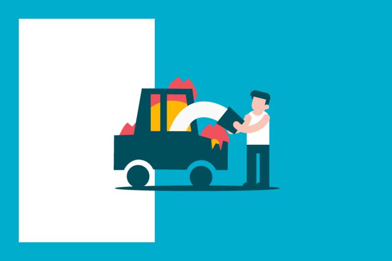 ¿Sabías que... en caso de incendio de tu vehículo te puede tocar pagar a los bomberos?