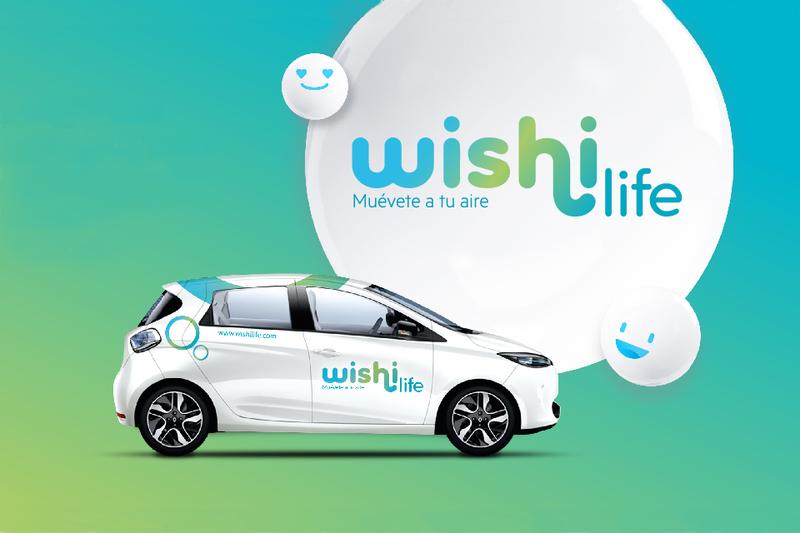 Wishilife reduce a 90 euros la franquicia del seguro en su servicio de carsharing