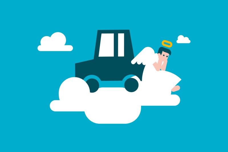 ¿Puedes conducir el coche de un difunto?