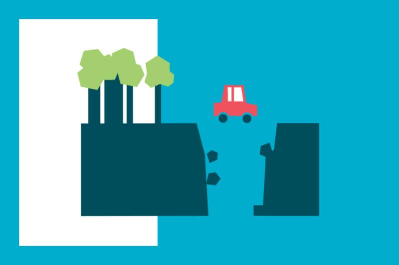 ¿Sabías que... si tienes un accidente por el mal estado de la carretera puedes reclamar?