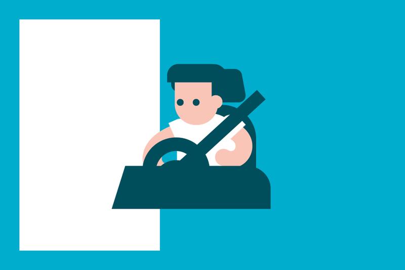 ¿Sabías que... si no llevas el cinturón tu indemnización puede reducirse tras un accidente?