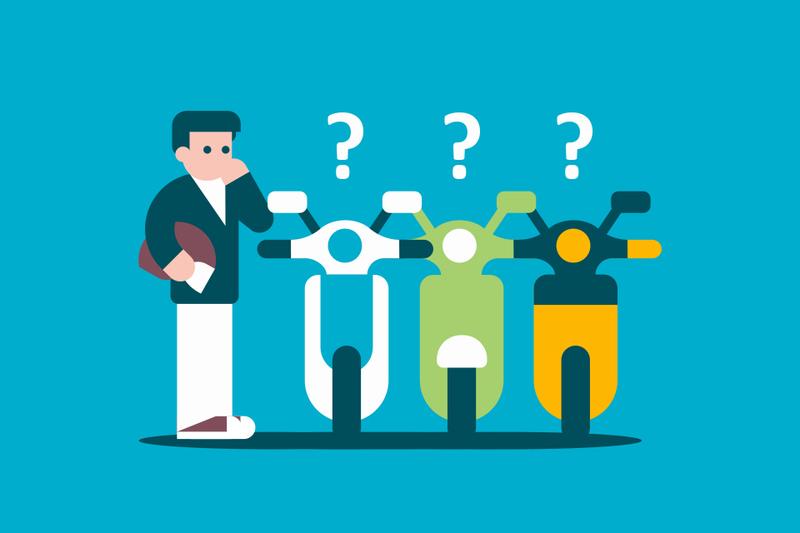 ¿Qué empresa de 'motosharing' tiene el mejor seguro?