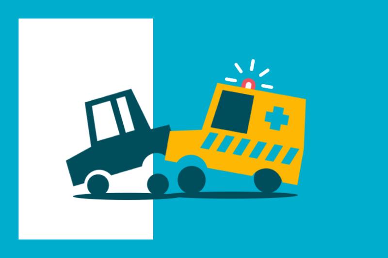 ¿Sabías que... si una ambulancia te golpea durante una urgencia puedes tener la culpa?