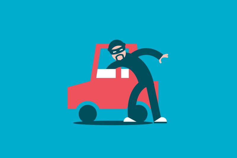 Las aseguradoras pagaron el robo de 135 000 vehículos en 2018