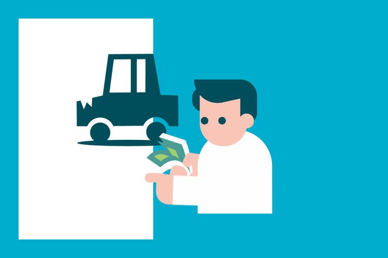 ¿Sabías que... puedes cobrar la indemnización si no quieres reparar el coche?