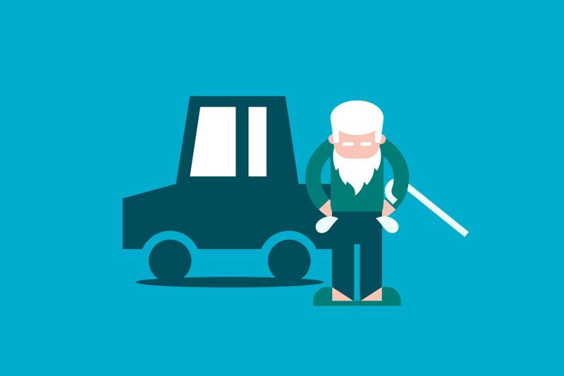Los conductores seniors pagan hasta un 46% más en su seguro