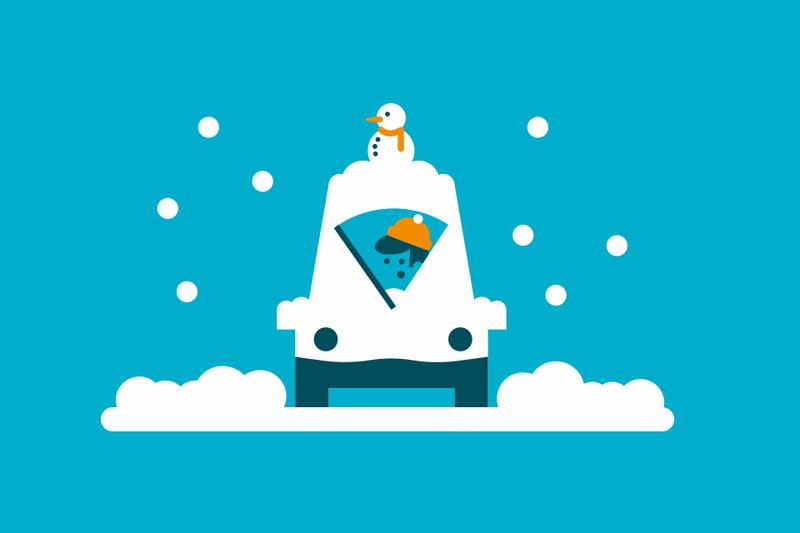 ¿Quién es responsable en un accidente de coche por culpa de la nieve?