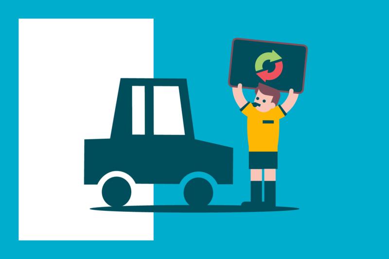 ¿Sabías que... tienes derecho a un coche de sustitución cuando un tercero daña tu vehículo?