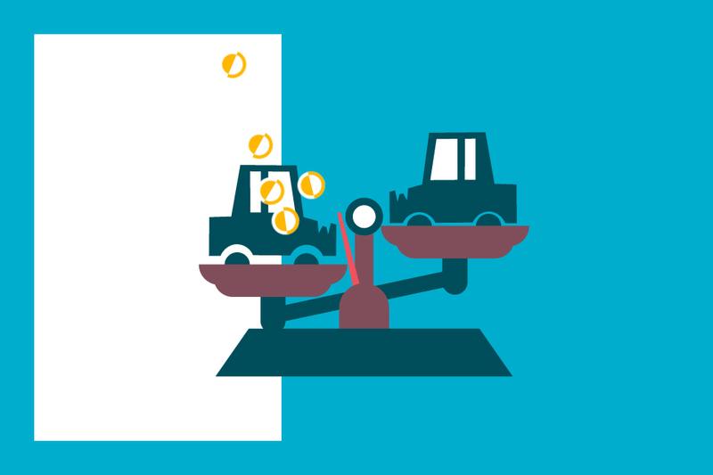 ¿Sabías que... el valor de compra de un vehículo es superior a su valor de venta?