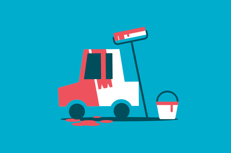 ¿Puedes pintar el coche dando parte a tu aseguradora?