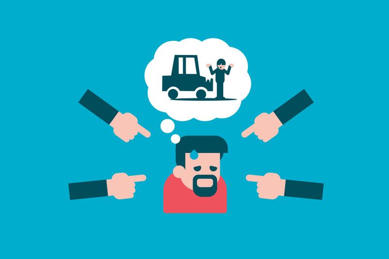 ¿Cuál es la responsabilidad de un propietario ante un accidente cuando él no conduce?