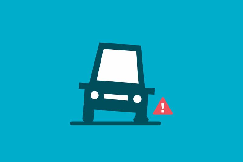 ¿Cubre tu seguro los daños en los neumáticos?