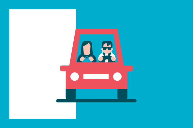 ¿Sabías que... no puedes enseñar a conducir a un hijo que se está sacando el carné?