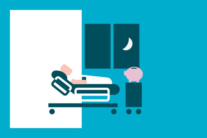 ¿Sabías que... algunos seguros te indemnizan por cada día que estés hospitalizado?