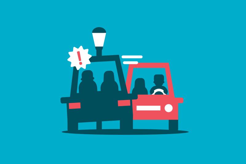 ¿Quién tiene la culpa si por esquivar un accidente provocas otro?