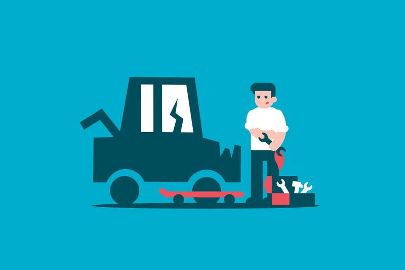 ¿Puedes reparar tu vehículo cuando ha sido declarado siniestro total?