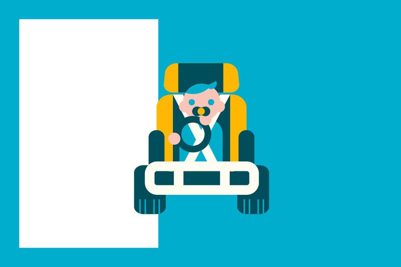 ¿Sabías que... algunas compañías aseguran las sillas infantiles dañadas tras un accidente?