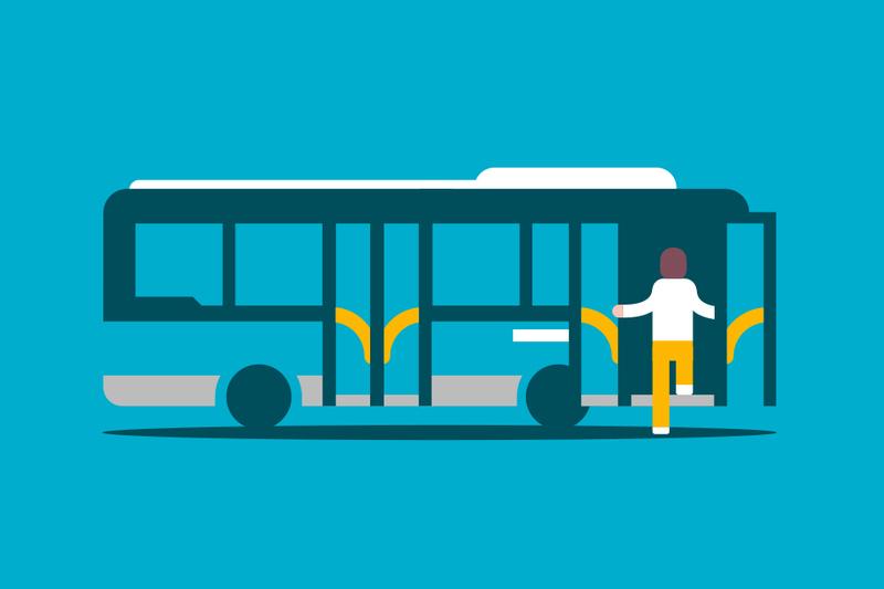 ¿Estás asegurado cuando viajas en transporte público?
