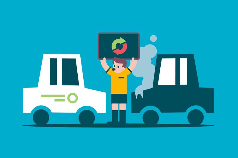 ¿Qué condiciones de la cobertura de coche de sustitución debes revisar?