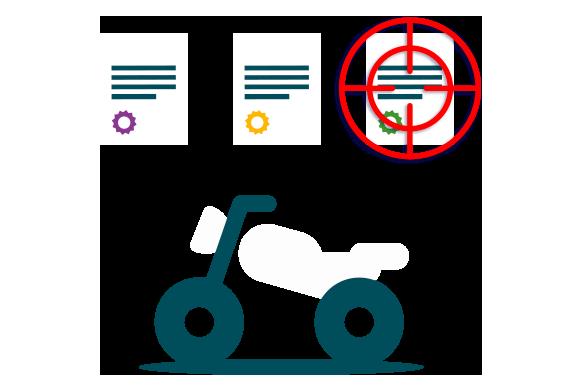 Buscador de pólizas para motos